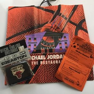 Other - Collectible Bag, wist bands and restaurant flyer